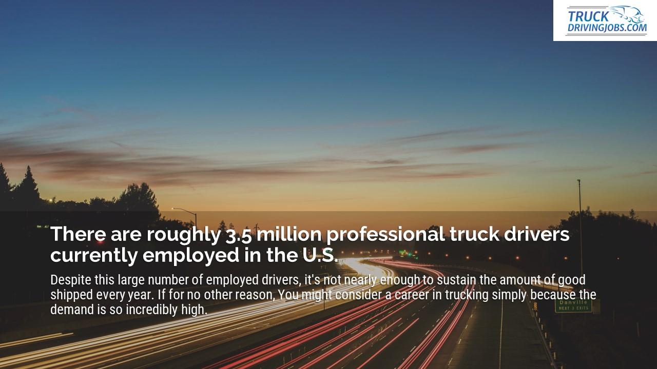 CDLLife truck driver job consider the life