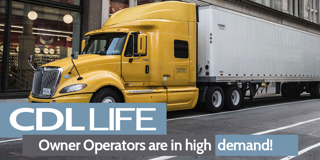 CDLLife owner operator truck driver
