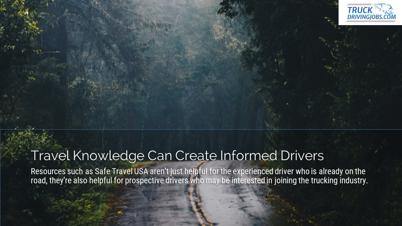 Safe Travel USA Truckers TruckDrivingJobs.com Slide4