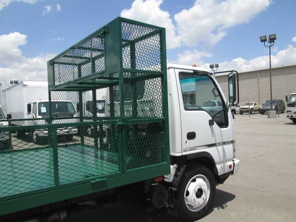 Isuzu Nqr Landscaping Flatbed Truck Truckdrivingjobs Com