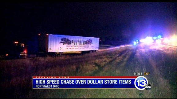 Dollar Store High Speed Chase