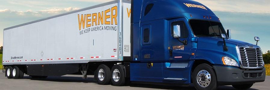 Werner Truck Blue sky