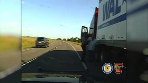 drunk truck driver arrested