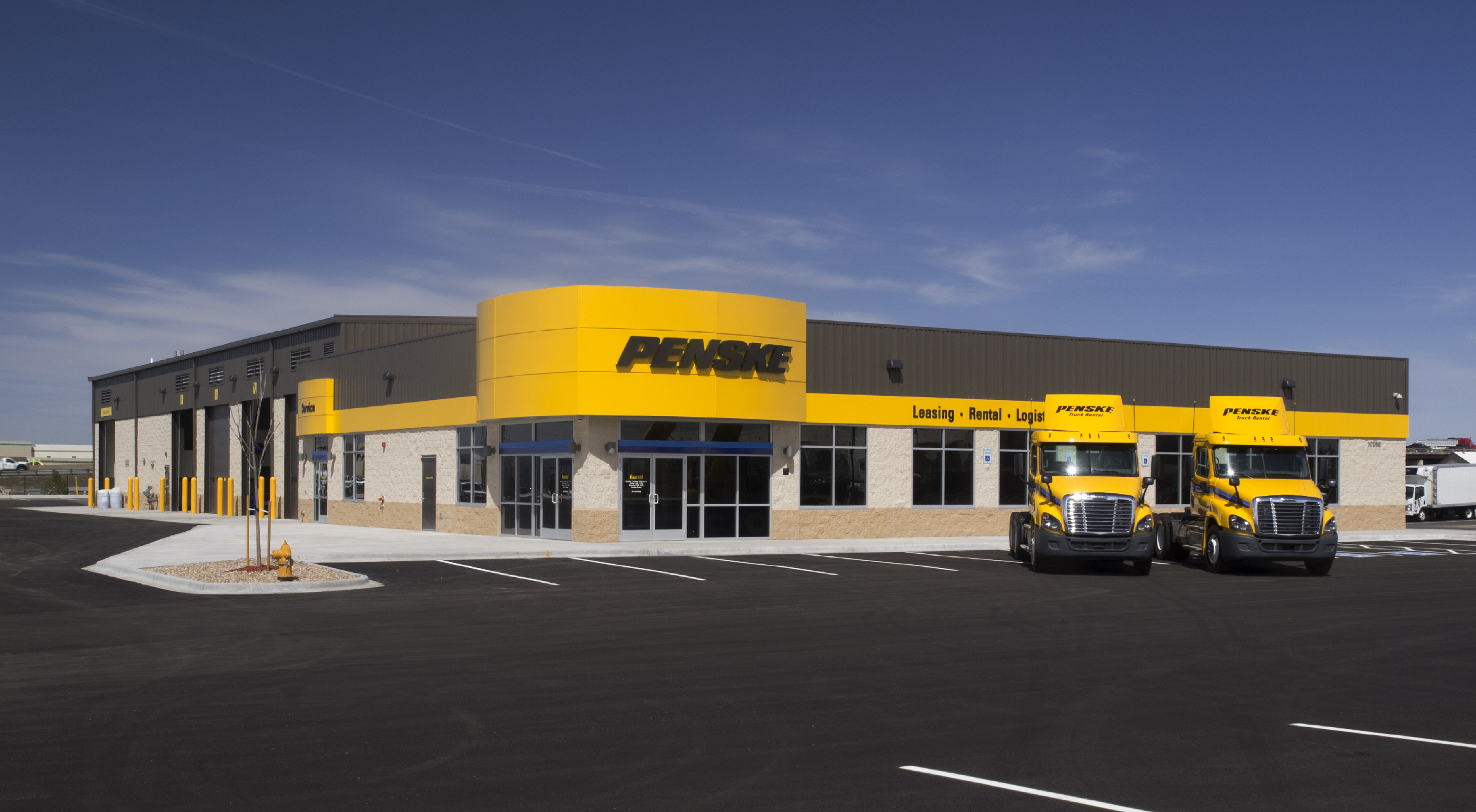 penske truck lease April onthemarch