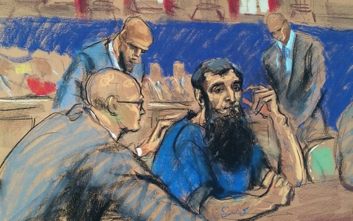Man charged in NY truck attack pleads not guilty
