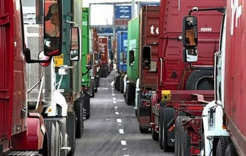 Port Truck Drivers Strike