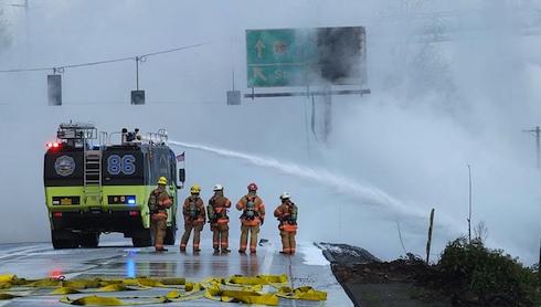 Portland fire fighters