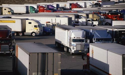national truck parking shortage