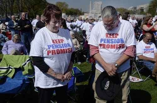 retired teamsters pension cut