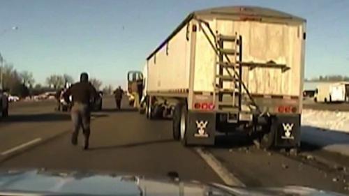 deputy rescues runaway truck