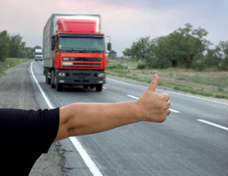Hitchhikers By Side Of Road >> Truckers And Hitchhiking Tradition Or Danger