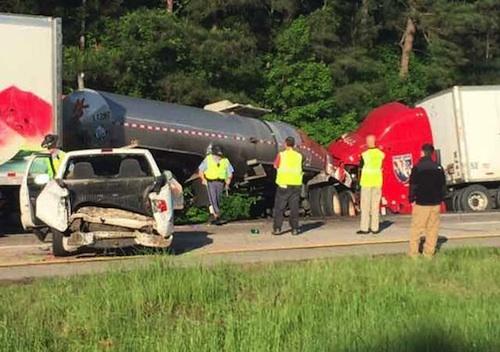 Trucking company charged in Georgia crash
