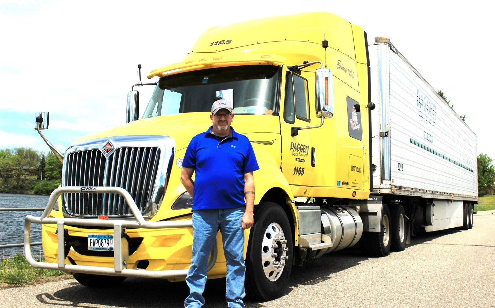 jack pate jr announced as minnesota trucking association driver of the year 2017