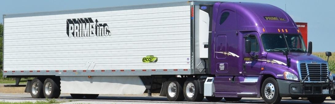 Purple Prime Truck
