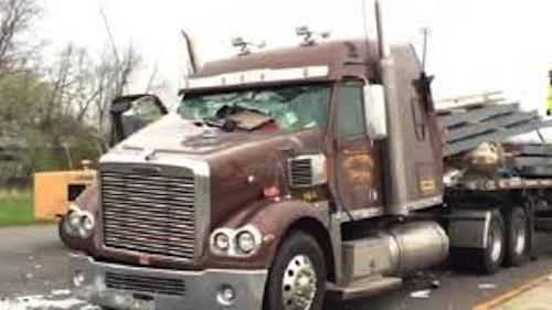 loose cargo kills driver