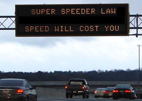 Georgia's Super Speeder Law
