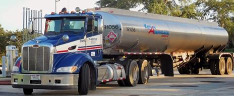 Kenan Truck filled with liquid bulk