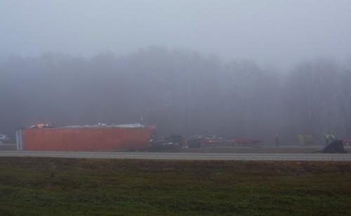 fruitport truck driver dead