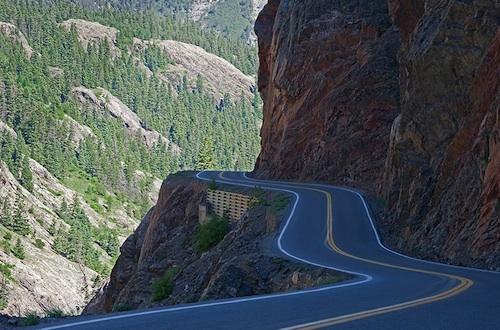 Highway 550 Colorado
