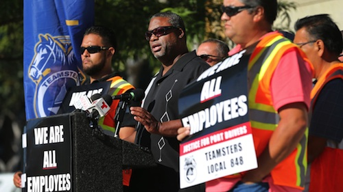California port truck drivers announce 15th strike