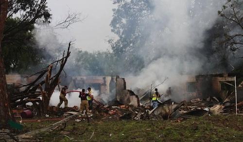 Takata truck explosion kills woman