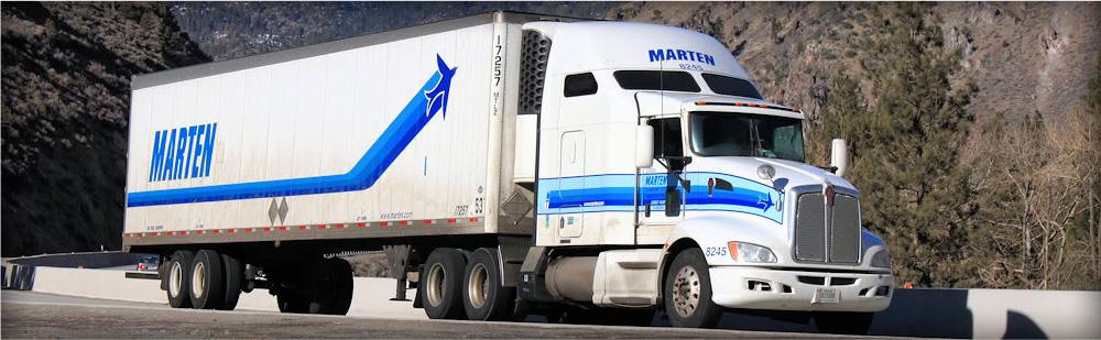 Marten Trans Truck On Road