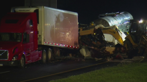 Indiana crash site