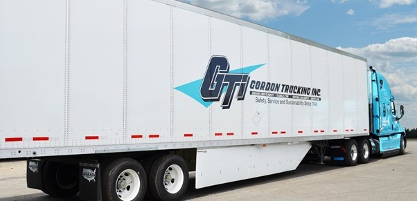 Signature blue Gordon Truck