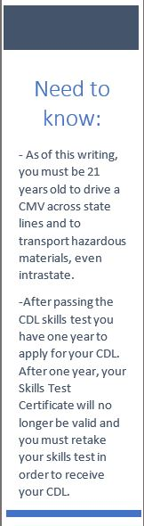 michigan commercial driver license manual