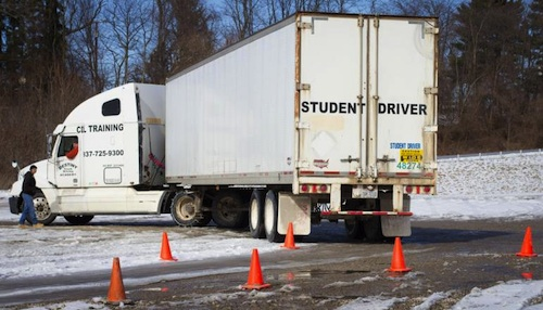 new training rules proposed for truck drivers