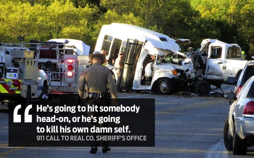 Texas crash kills 13 people