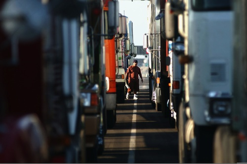 truck drivers win pay fight against Wal-Mart