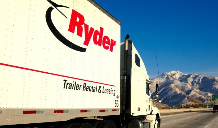 Ryder Truck Mountain Road