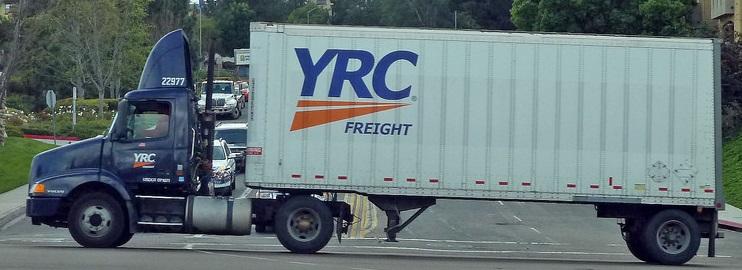 YRC city truck
