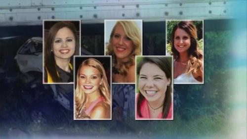 Five nurses killed in crash