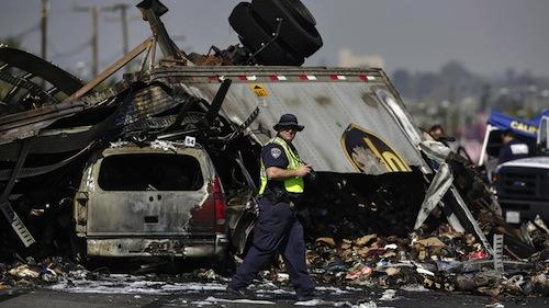 5 Freeway Crash