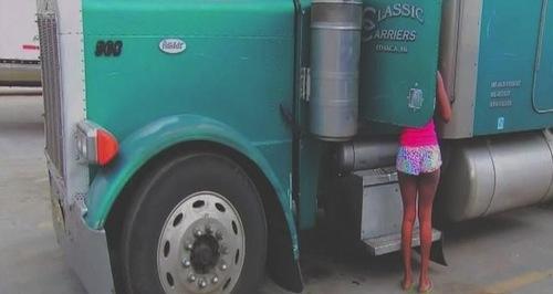human sex trafficking at truck stops