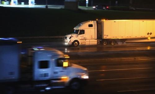 OTR truck driver gun laws