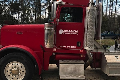 $6000 reward for return of stolen semi truck