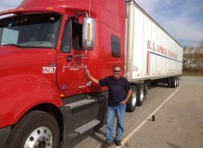 Picture of truck driver
