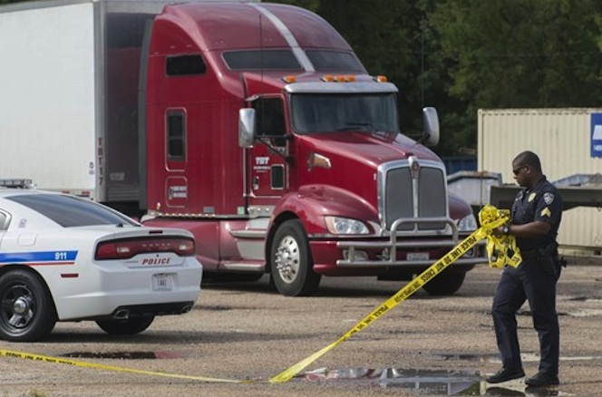 Truck driver Keith Odom killed in shooting