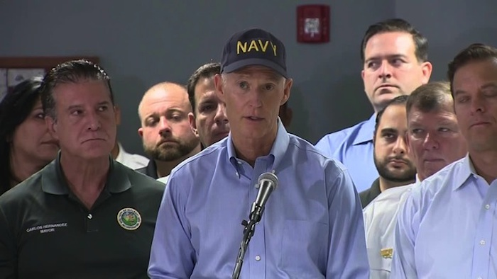 Governor Rick Scott Prepares for Irma