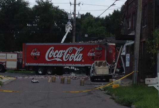 Wasp Truck Crash