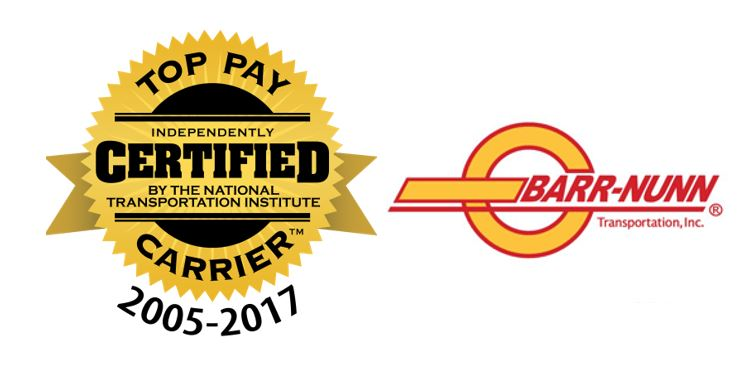 as a certified top pay carrier we can prove it no carrier has been recognized for more years as a top pay carrier and weve been increasing our