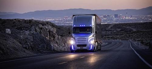 Daimler Self Driving Semi