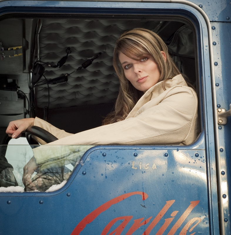 Carlile Transportation is where Lisa Kelly calls home