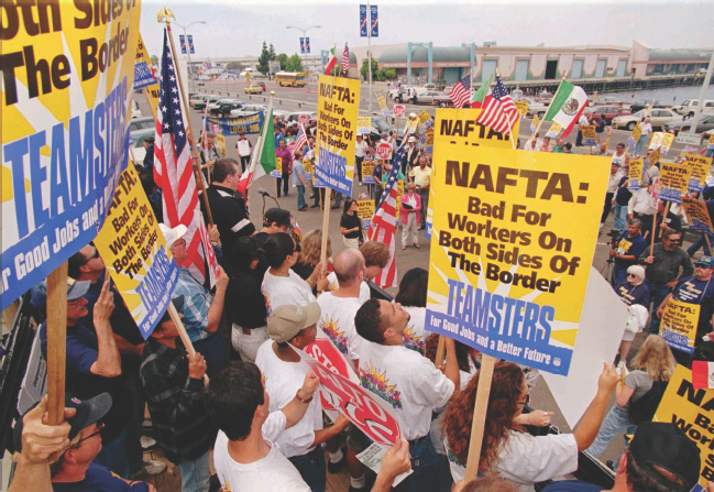 Nafta continues to cause controversy this trade agreement took the place of the canada united states free trade agreement which was enacted in 1988 platinumwayz