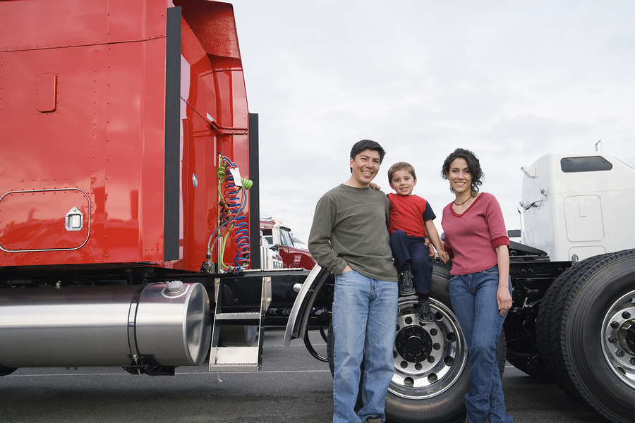 One Of The Main Reasons Truckers Enjoy Bringing Their Sons And Daughters Along Is Because It Allows Them To Have Opportunity Bond With Children