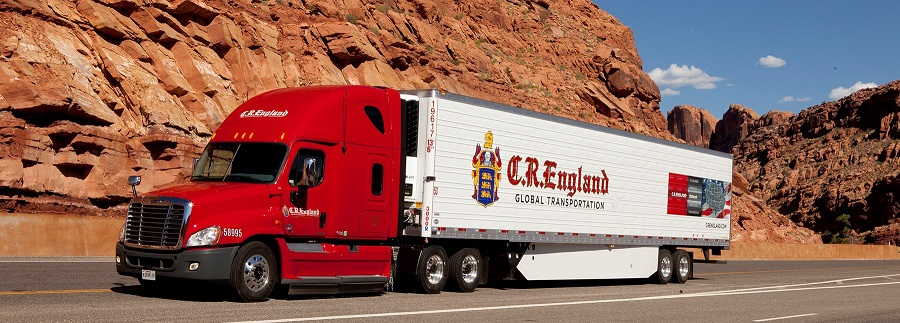 Over the past 100 years, CR England Trucks have run across the country