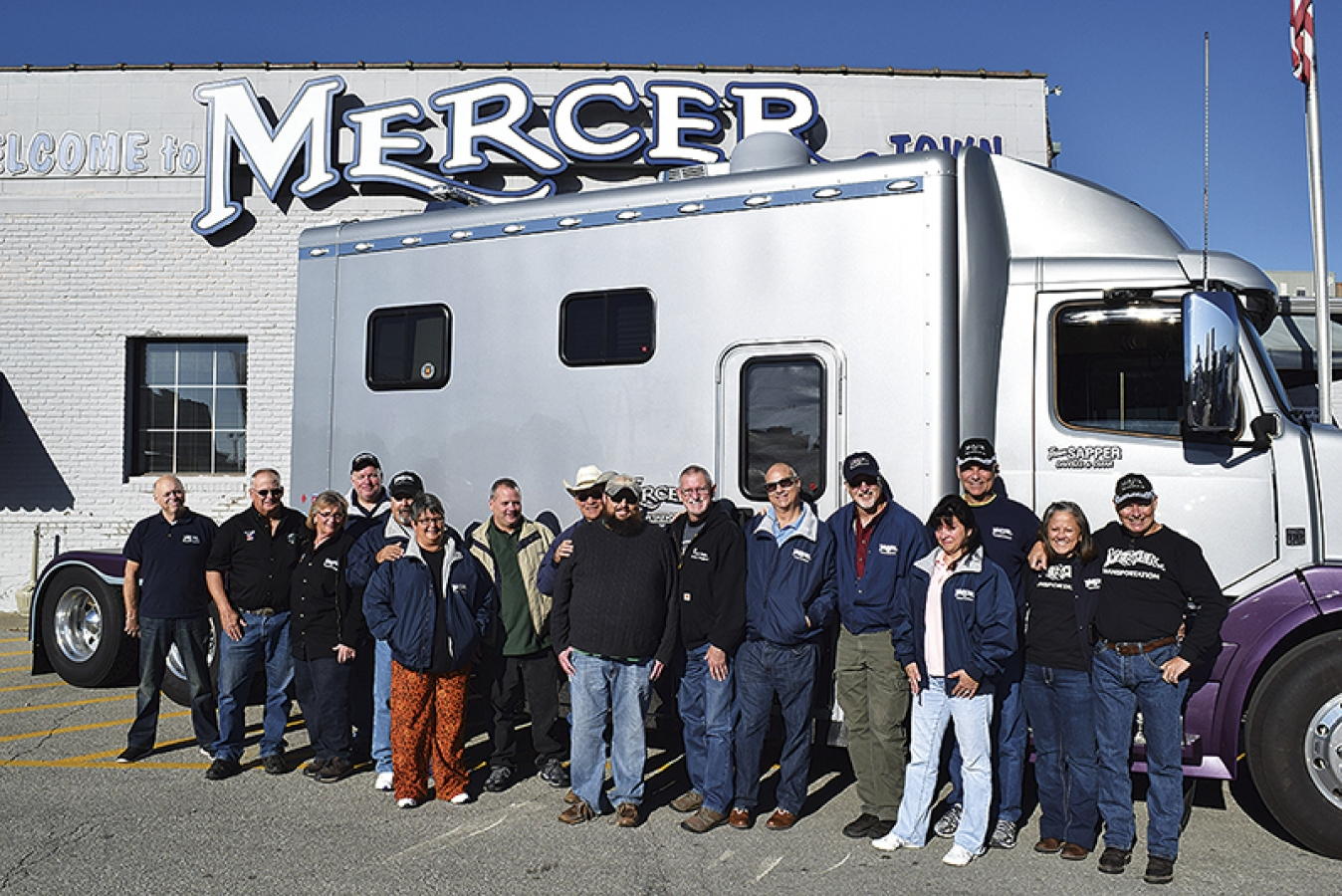 The drivers who are their own bosses at mercer